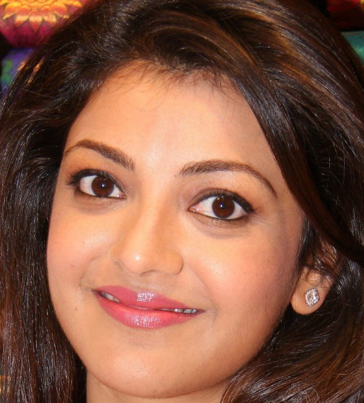 Hindi Actress Kajal Aggarwal Oily Face Close Up Photos