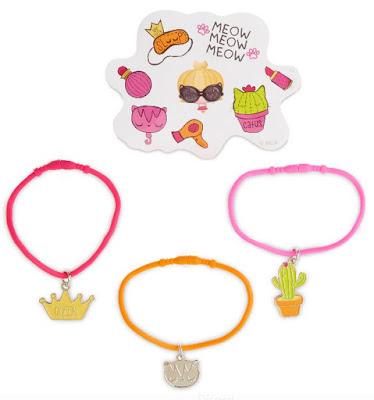 Украшения девочкам браслеты с котиками MGA в стиле L.O.L. Surprise