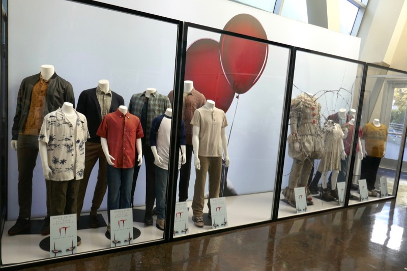 IT Chapter Two film costume exhibit