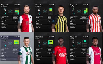 PES 2021 Eredivisie Facepack V3