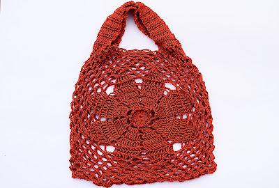 1-Imagen bolso de flor a crochet y ganchillo Majovel Crochet