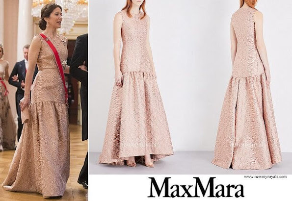 Princess Mary outfits, Maxmara dress