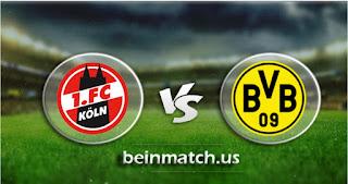 مشاهدة مباراة بوروسيا دورتموند وكولن بث مباشر اليوم 24-01-2020 في الدوري الالماني