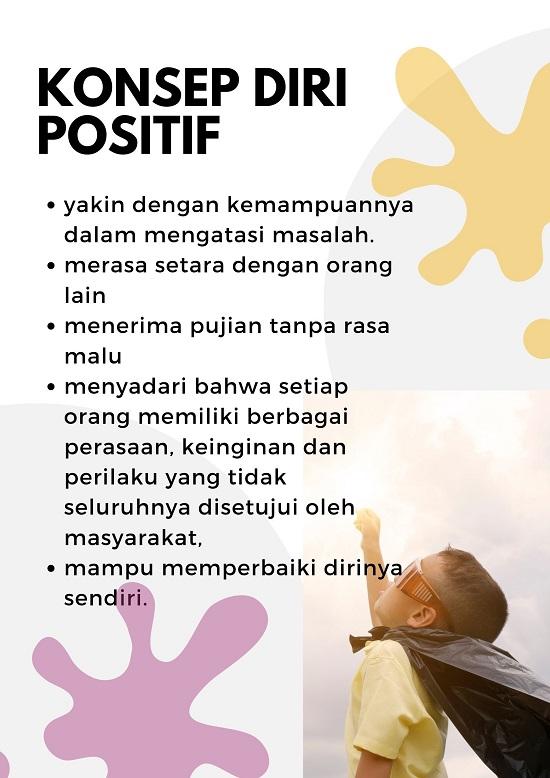 definisi dan contoh konsep diri positif