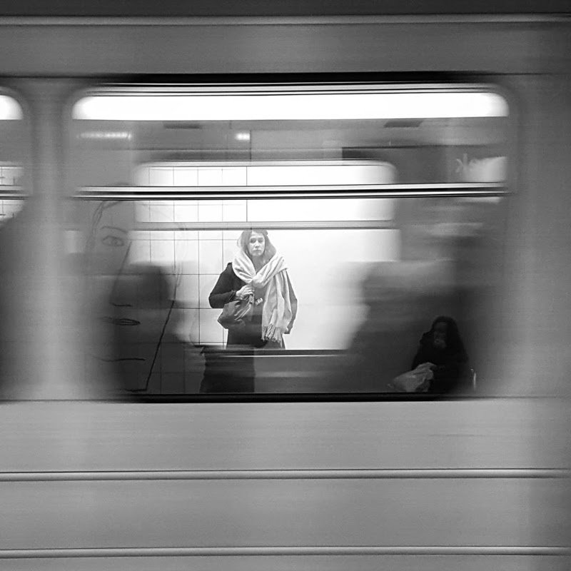 Photography Subway Series from Brussels by Gregory Autiquet
