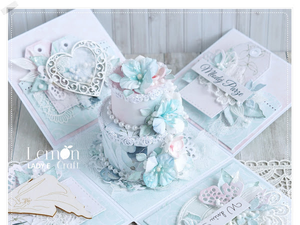 How to decorate Wedding Cake Exploding Box?