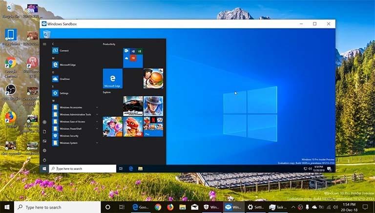 Cara Mudah Mengaktifkan Windows Sandbox Pada Windows 10 Home