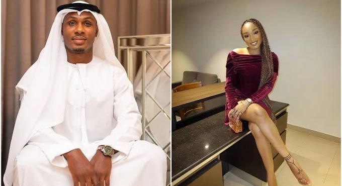 Odion Ighalo & Wife Clash Amid Infidelity Scandal