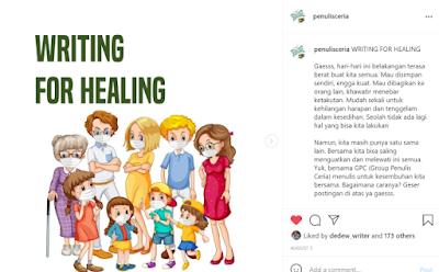 7 Hari Writing For Healing bersama Grup Penulis Ceria