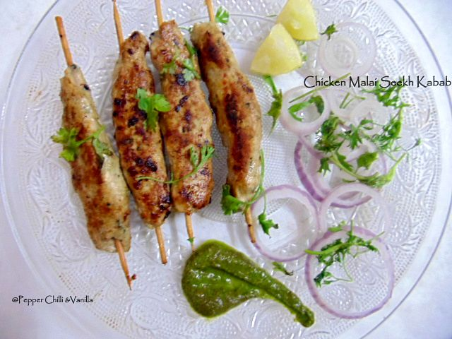 how to make seekh kabab