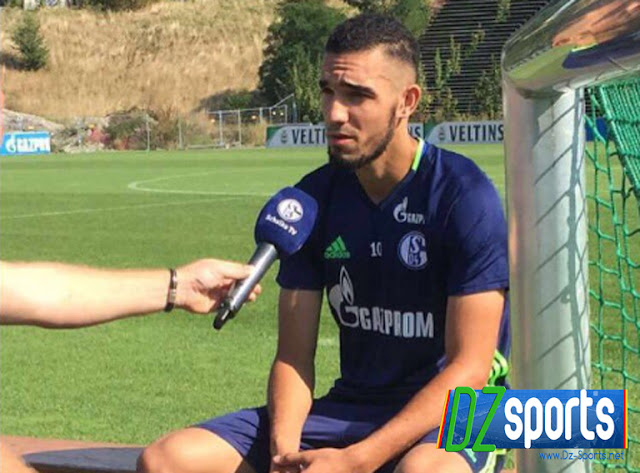 Nabil Bentaleb content à Schalke04, et ne regrette rien!