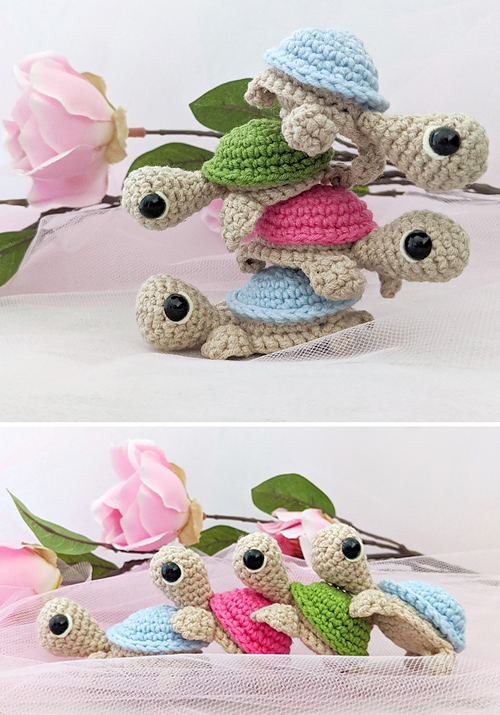 Cute Little Turtle - Free Pattern