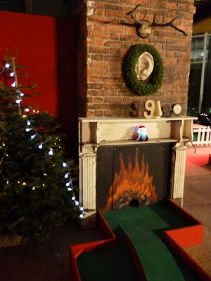 Chrizy Golf - Christmas Crazy Golf in Manchester