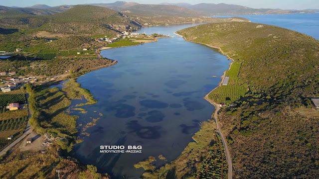 Βιβάρι: Το προστατευόμενο λιμάνι της Αργολίδας και το οικοσύστημα της λιμνοθάλασσας (βίντεο drone)