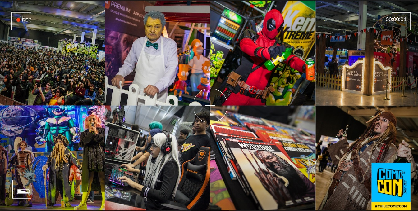 La productora Vibra Marketing que desarrolla y produce la Comic Con Chile cf4dea2debd5