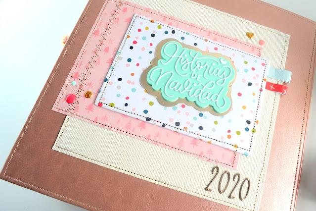 diario de navidad 2020 project life