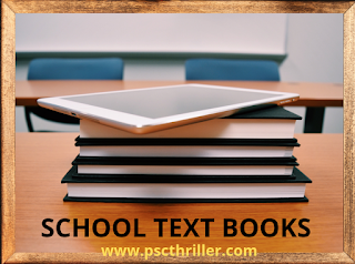 SCERT School Text Books - 8, 9 and 10 Class