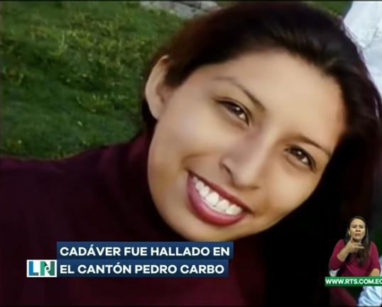 mujer desaparecida fue hallada sin vida