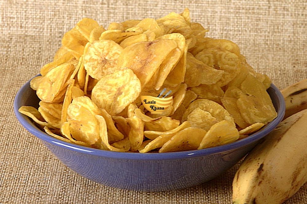 केले के चिप्स बनाने की विधि – Banana Chips Recipe in Hindi