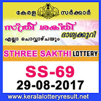 KERALA LOTTERY, kl result yesterday,lottery results, lotteries results, keralalotteries, kerala lottery, keralalotteryresult, kerala lottery result, kerala lottery result live, kerala lottery results, kerala lottery today, kerala lottery result   today, kerala lottery results today, today kerala lottery result, kerala lottery result 29.8.2017, sthree sakthi lottery results, kerala lottery result today sthree sakthi, sthree sakthi lottery result, kerala lottery result sthree sakthi today,   kerala lottery sthree sakthi today result, sthree sakthi kerala lottery result, STHREE SAKTHI LOTTERY SS 69 RESULTS 29-08-2017, STHREE SAKTHI LOTTERY SS 69, live STHREE SAKTHI LOTTERY SS-69, sthree sakthi   lottery, kerala lottery today result sthree sakthi, STHREE SAKTHI LOTTERY SS-69, today sthree sakthi lottery result, sthree sakthi lottery today result, sthree sakthi lottery results today, today kerala lottery result sthree sakthi,   kerala lottery results today sthree sakthi, sthree sakthi lottery today, today lottery result sthree sakthi, sthree sakthi lottery result today, kerala lottery result live, kerala lottery bumper result, kerala lottery result yesterday, kerala   lottery result today, kerala online lottery results, kerala lottery draw, kerala lottery results, kerala state lottery today, kerala lottare, keralalotteries com kerala lottery result, lottery today, kerala lottery today draw result,kerala lottery result 29-8-2017