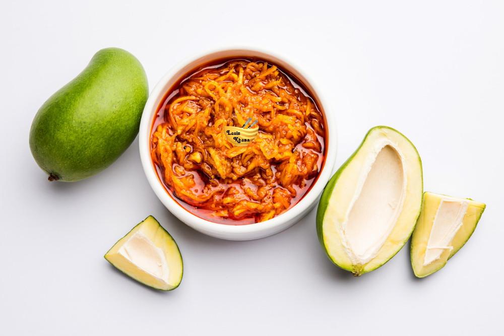 Instant Mango Pickle Recipe in Hindi