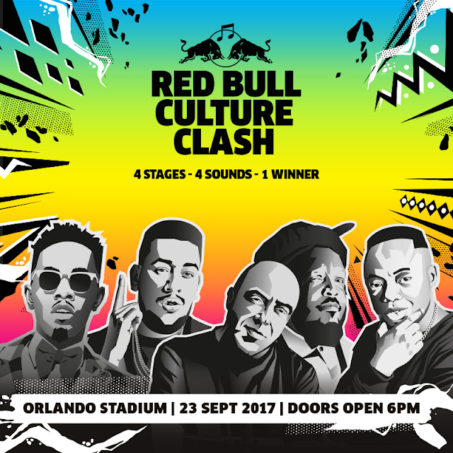 @RedBullZA Brings Biggest Sound System Battle To #Jozi #RedBullCultureClash