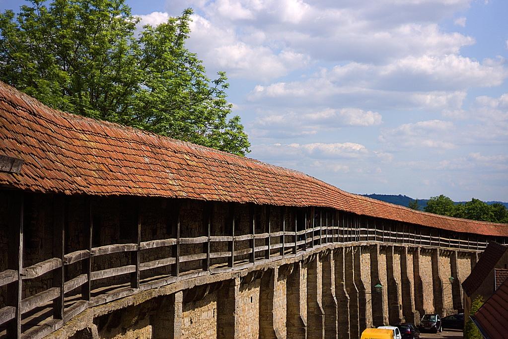 #276 Schneider-Kreuznach Componon-S f2.8 50mm – 1€ Projekt – Stadtmauer von Rothenburg ob der Tauber