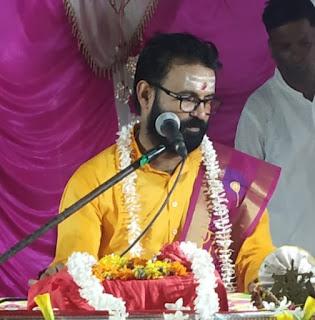 #JaunpurLive : धर्म की रक्षा के लिए शस्त्र और शास्त्र दोनों आवश्यक - धर्मराज जी महराज