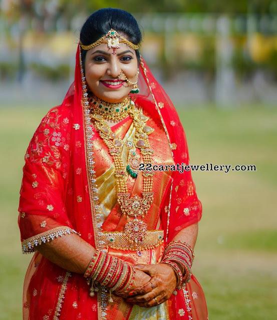 Bride Mounika Reddy Jewellery