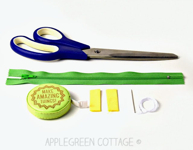 zipper tabs to sew