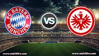 مشاهدة مباراة بايرن ميونخ واينتراخت فرانكفورت Eintracht frankfurt Vs Bayern munich بث مباشر بتاريخ 09-12-2017 الدوري الالماني