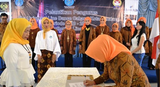 Gina Sadeli Pimpin ULD Cabang Kota Bandung
