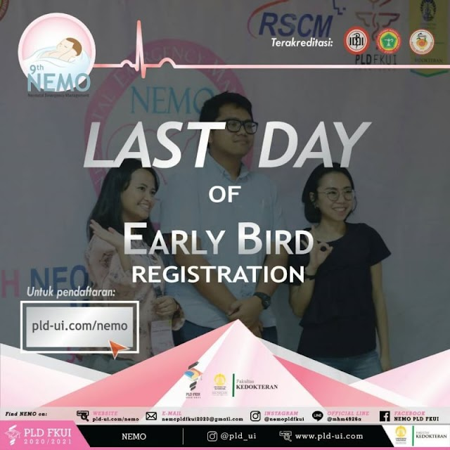 [LAST CHANCE TO GRAB YOUR SEAT FOR EARLY BIRD REGISTRATION]