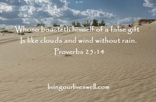 Proverbs 25:14