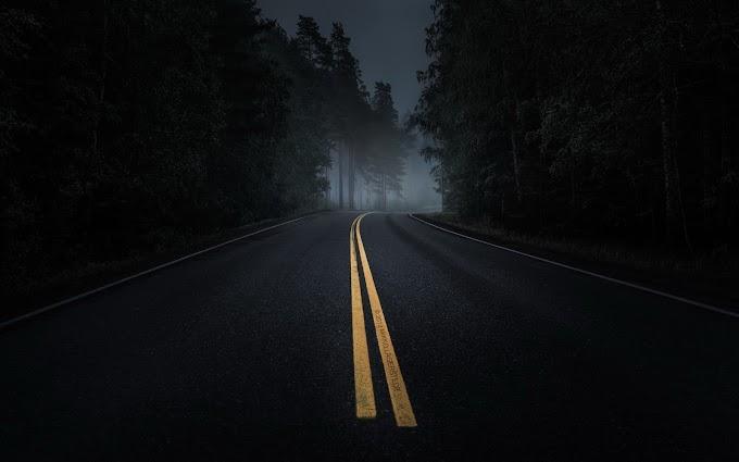 Penumpang jalan gelap...