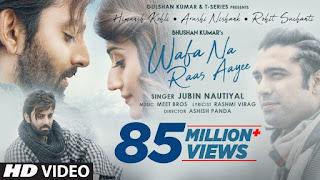Wafa Na Raas Aayee Song Mp3 Download Jubin Nautiyal
