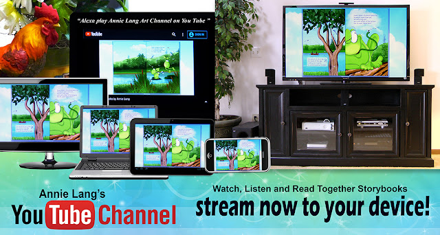 Stream all of Annie Lang's Read Together Children's Books to any streaming device!