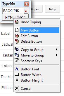 membuat tombol baru di typeitin