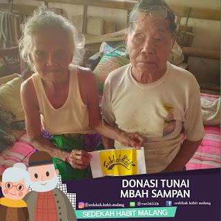 Mbah Sampan : Donasi Tunai