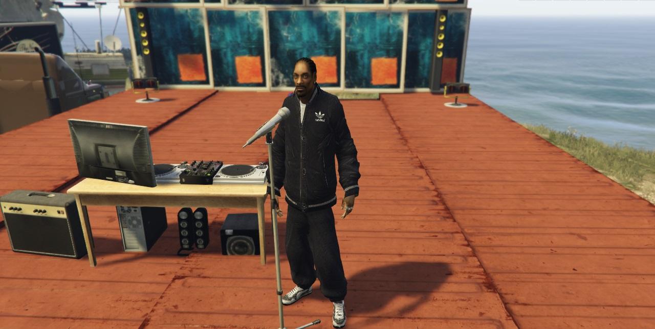 Isma Danial Eugene: Snoop Dogg GTA 5 Mods Addon Ped