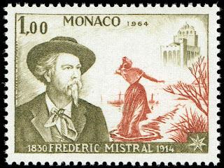 Monaco 1964 Frederic Mistral