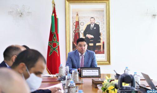 الهجرة: إفريقيا تتموقع كفاعل مركزي في تنفيذ ميثاق مراكش (السيد بوريطة)