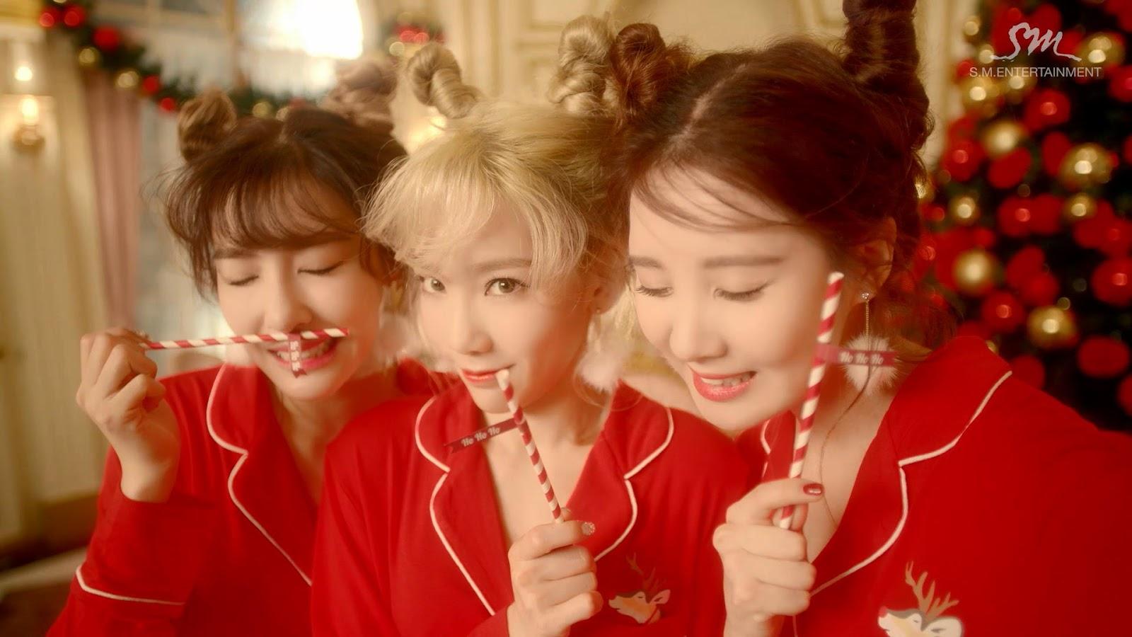 Girl S Generation Tts Dear Santa Screen Caps Daily K
