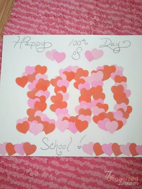 Download 100th Day of School Project & Valentine Craft Inspirations ...
