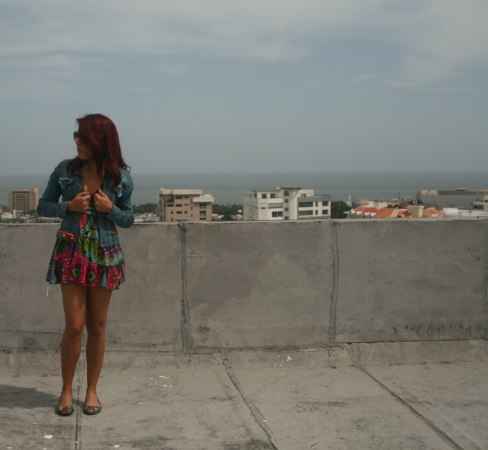 Valentina Vaguada: DIY, boho jean jacket, boho, summer, fashion