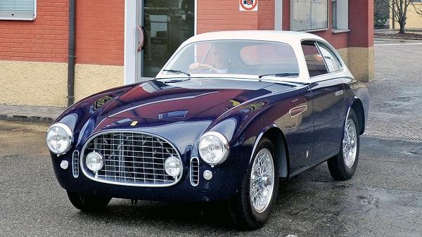 Ferrari 225E restaurada Ferrari Classiche