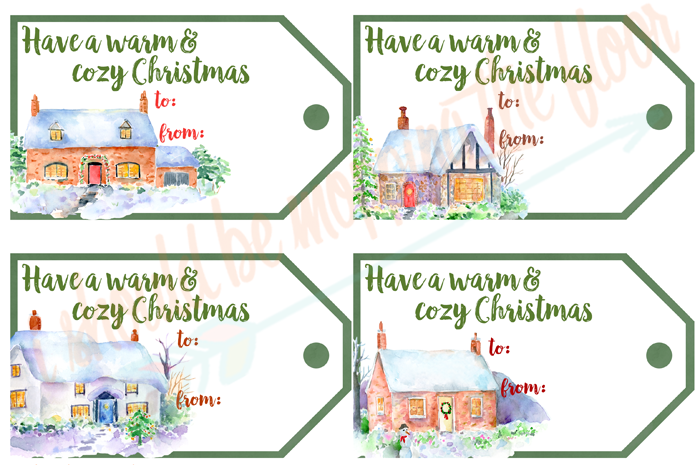 50+ Printable Holiday Gift Tags | These 54 Watercolor Christmas Gift Tags are perfect for all of your packages this holiday season. They're all GORGEOUS!