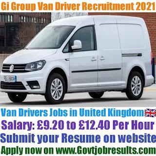Gi Group Van Driver Recruitment 2021-22