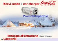 Logo Coca-Cola Chef Express : Car Charger premio certo e vinci la Lapponia e non solo!