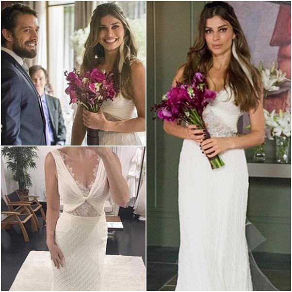 vestido de noiva livia o outro lado do paraíso
